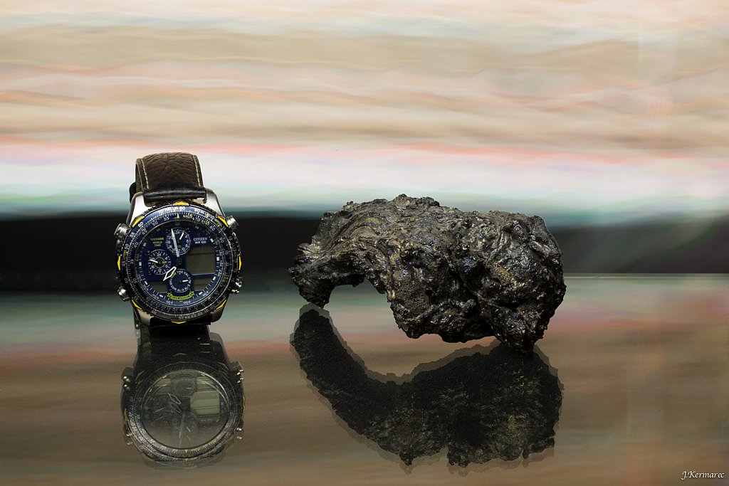 La montre et la lave