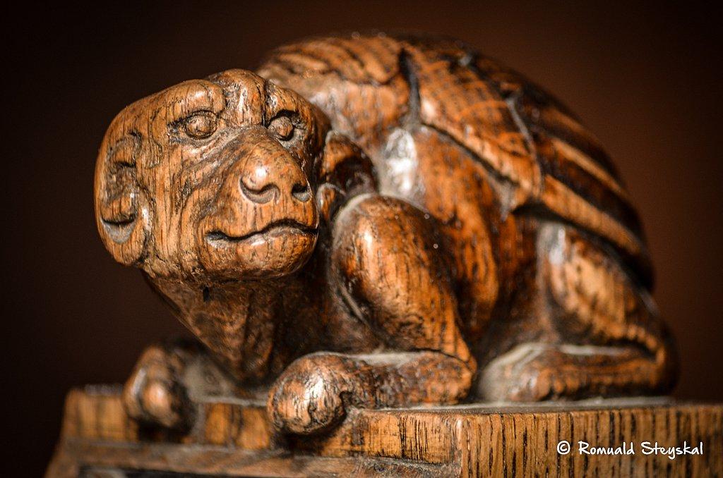 Dragon de bois