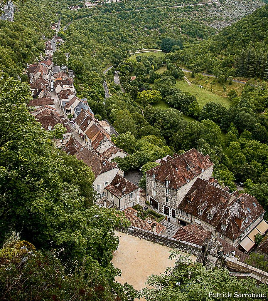 Les toits de Rocamadour