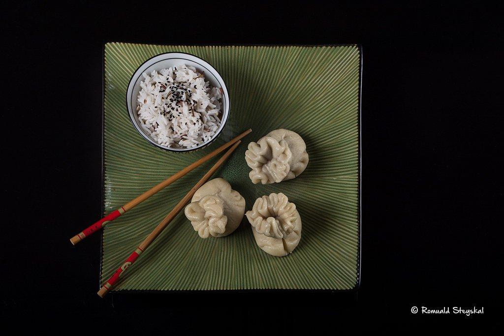 Pain chinois assiette carrée