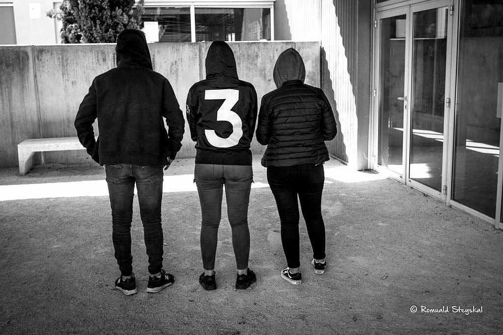 3 blanc 3 noirs