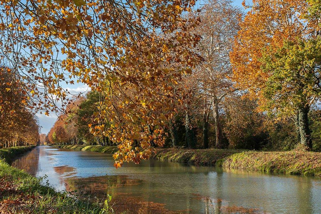 Le canal en beauté