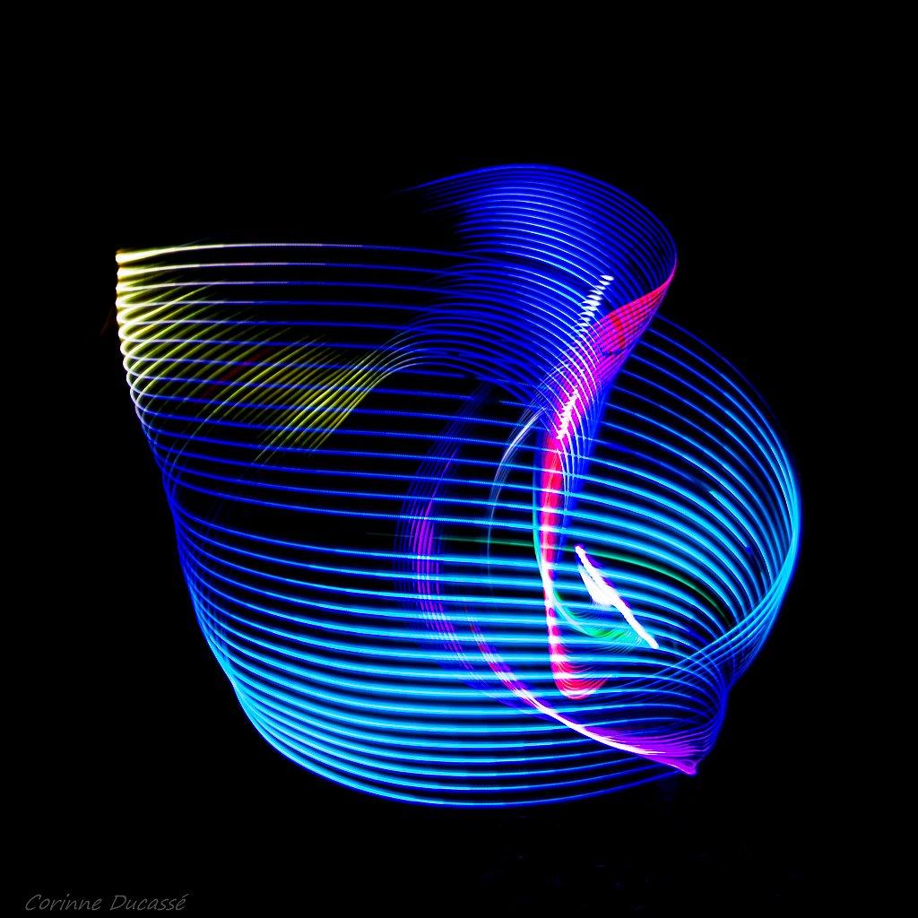 Le tourbillon bleu