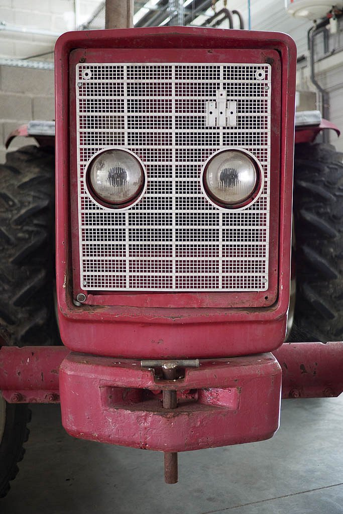 Tracteur rieur