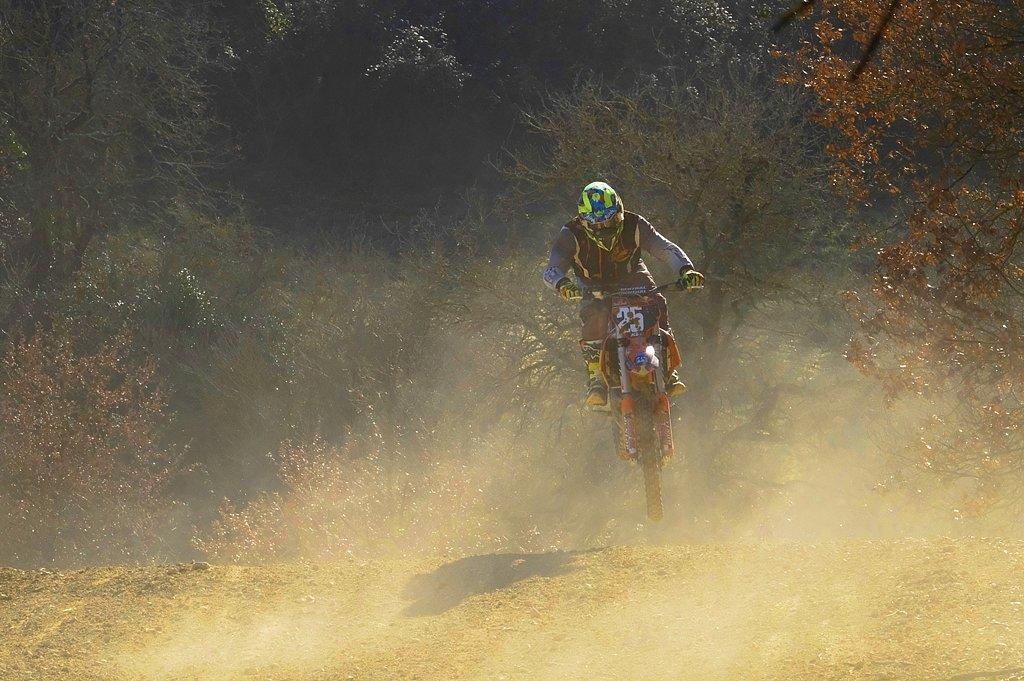 Dans la poussière