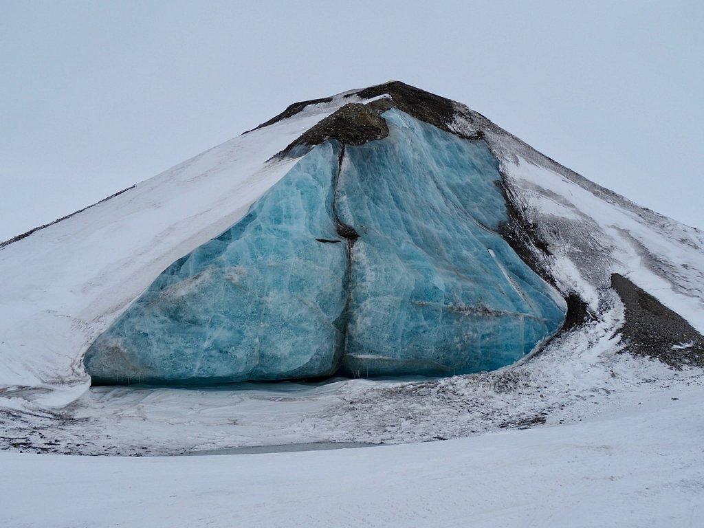 Bloc de glacier